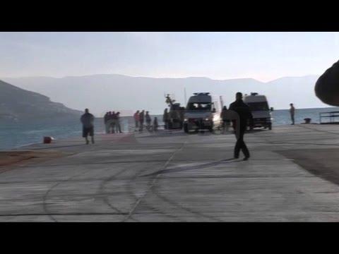 A1 Report - Mberrijne ne Vlore trupat e dy marinareve shqipare