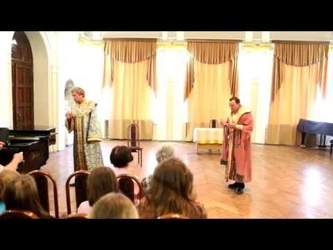 """Сцена из оперы Модеста Мусоргского """"Борис Годунов"""""""