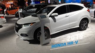 A look at the 2019 Honda HR-V at the 2019 North American Internatio...