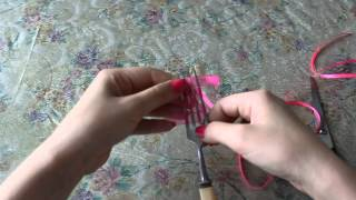 Урок по handmade, как быстро сделать красивый бантик