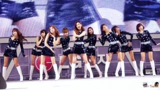 2011/04/03 LG 시네마 3D 게임페스티벌 소녀시대 - Visual Dreams 직캠 by DaftTaengk