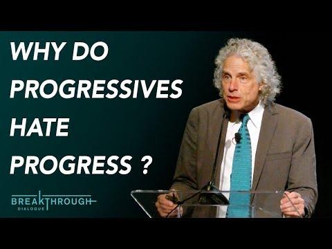 Why do progressives hate progress? | Steven Pinker