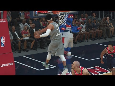 NBA 2K18 My Career - New Dunks! Tied Lakers Record! PS4 Pro 4K Gameplay