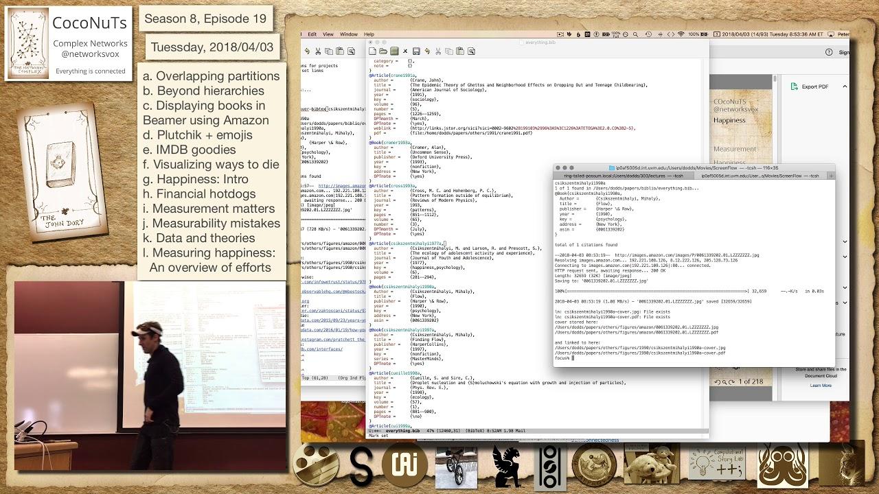 Episode 19c: Displaying books in Beamer using Amazon