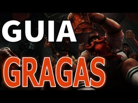 GUIA Gragas Jungle [DIAMANTE] - League Of Legends [PT-BR]
