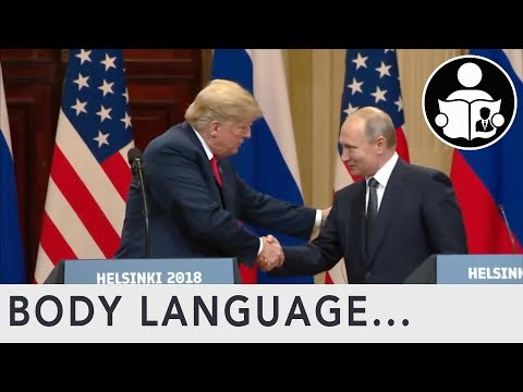 Body Language: Trump and Putin Meeting in Helsinki