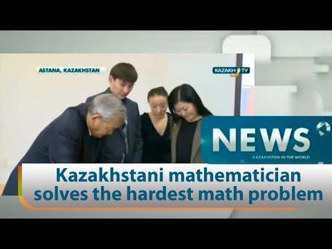 Kazakhstani mathematician solves the hardest math problem