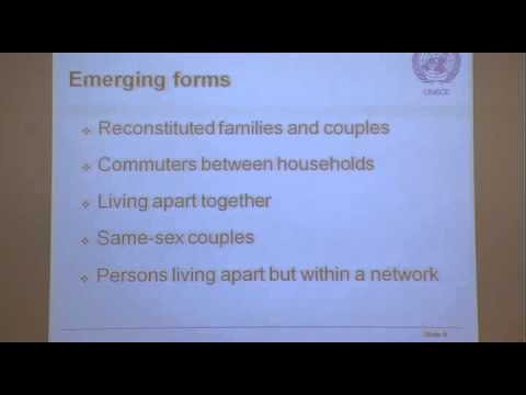 Census statistics on households and families: towards better international comparability