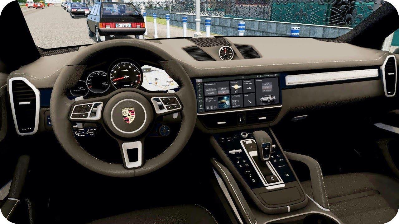 8062ed6095e 2019 Porsche Cayenne Turbo - City Car Driving | Logitech G29 - YouTube