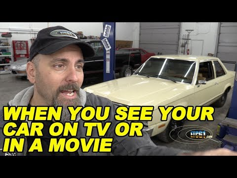 When You See Your Car On TV or in a Movie