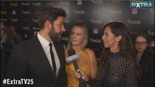Emily Blunt & John Krasinski Talk 'A Quiet Place' Sequel & Post Award Season Plans