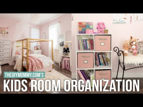 KIDS BEDROOM ORGANIZATION | DIY & Decor Challenge | The DIY Mommy