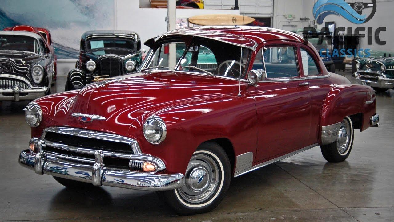 1951 Chevrolet 2 Door Youtube Hardtop
