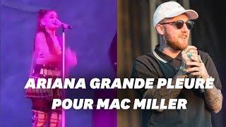 Ariana Grande fond en larmes en concert à Pittsburgh, ville natale de Mac Miller