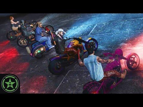 Let's Play: GTA V - Bike Bat Returns