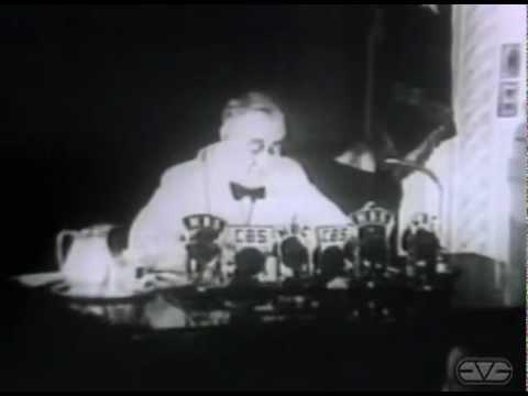 President Franklin D. Roosevelt 1941 Fireside Chat