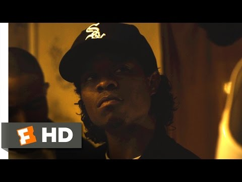 Straight Outta Compton (1/10) Movie CLIP - Raid on the Dope House (2015) HD
