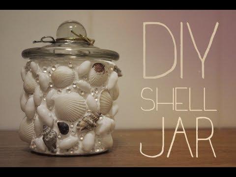 Diy Shell Jar Youtube
