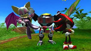 Sonic Heroes (PC) | Part 12: Team Dark - Frog Forest/Lost Jungle/VS. Team Sonic
