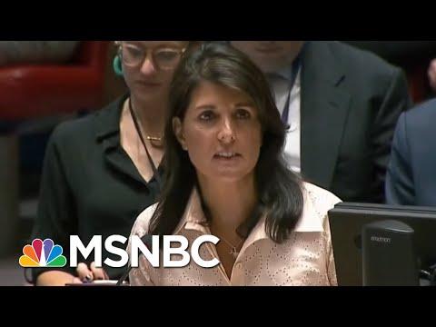 Did Embassy Move Raze TwoState Solution?  AM Joy  MSNBC