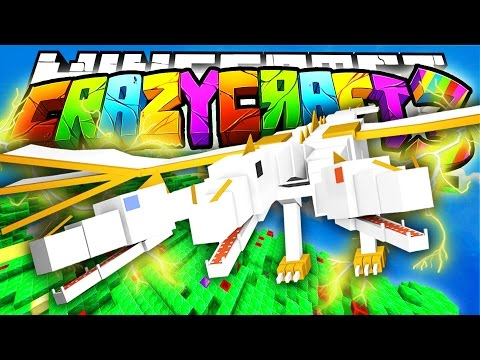 Minecraft Crazy Craft 3.0: THE KING DRAGON! #21
