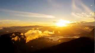 Beautiful Sunrise Time Lapse - Adam's Peak - Sri Lanka - [Shot with the GoPro HD Hero 2]