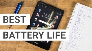 Top 5 Android Tablets with Best Battery Life