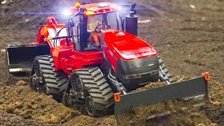 AWESOME RC MODEL TRACTOR ACTION *CASE 600 QUADTRAC / Fair Erfurt Germany 2017
