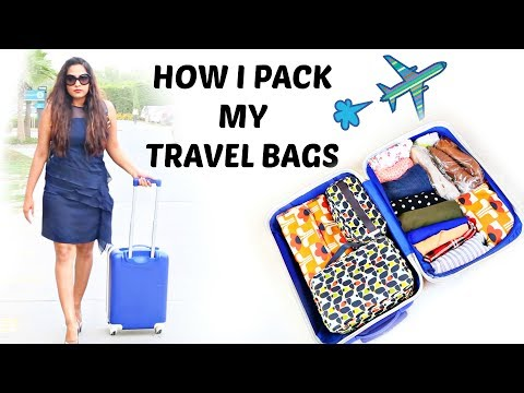 How I Pack My Suitcase & Carry-On Bag | ShrutiArjunAnand