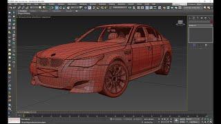 18. 3DDDga fayl tayyorlash. BMW M5 Material va Render. 2-qism