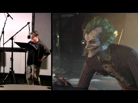 Voice Talent - Batman: Arkham City Behind the Scenes Video