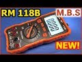 Мультиметр RM118B Хороший Richmeters с Aлиэкспресс