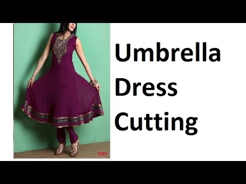 Umbrella Dress Cutting