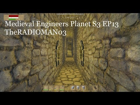 """Medieval Engineers Planet S3 EP13 """"Tunnel FUN!"""""""