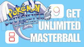 How Get Unlimited Masterball Pokemon Soul Silver Inds Ios