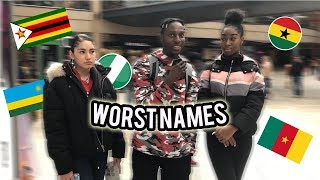 Which Country Have The WORST NAMES