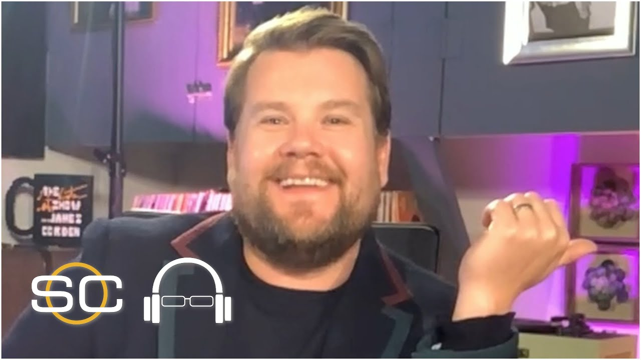 James Corden can't contain his excitement for 'The Last Dance' | SC with SVP