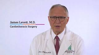 Dr. James Levett on why experience matters for heart surgery