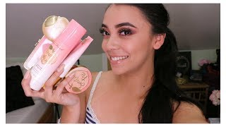 Too Faced Peaches and Cream Collection | FULL REVIEW