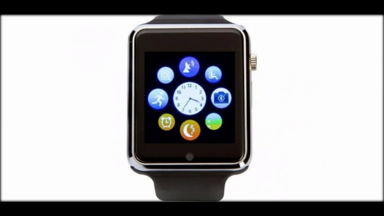 Atrix Smart Watch E07 Steel - YouTube fde75dec9bdfa