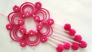 Beautiful Wall Hanging Idea Out Of Waste   Home Decoration Idea