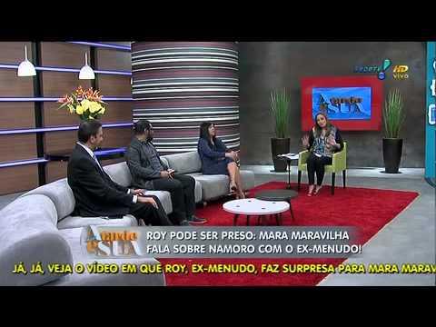 Temos Que Ouvir Os Dois Lados', Diz Mara Sobre Briga De Roy Com A Ex A Tarde é Sua 24/09/2014