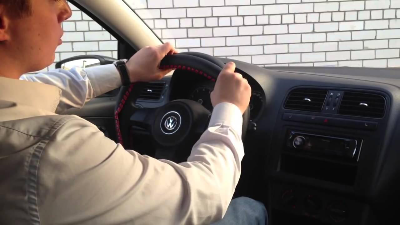 Как правильно одеть кожаный чехол на руль
