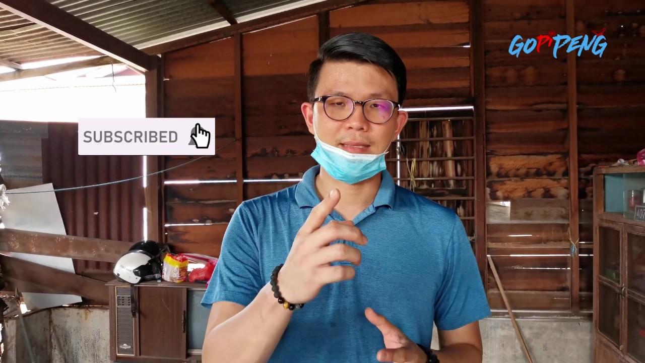 Gotong Royong membersihkan Rumah Bersama Sukarelawan.