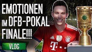 Freude und Schock im DFB Pokal-Finale! | Stadion Vlog
