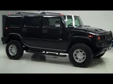 2006 Hummer H2 Four Door Moonroof 2nd Bench Third Seat 4wd