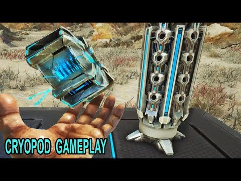 Ark Extinction CRYOPOD GAMEPLAY! How do Cryopods