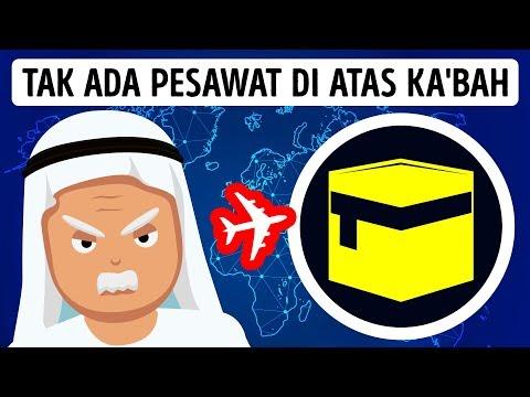 MENGAPA PESAWAT TIDAK TERBANG MELINTASI KAKBAH