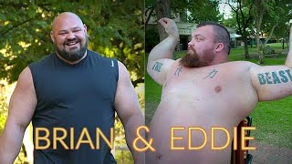 Brian SHAW & Eddie HALL: Strongman FUNNY MOMENTS!