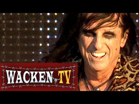 Alice Cooper - Paranoiac Personality & School's Out - Live at Wacken Open Air 2017